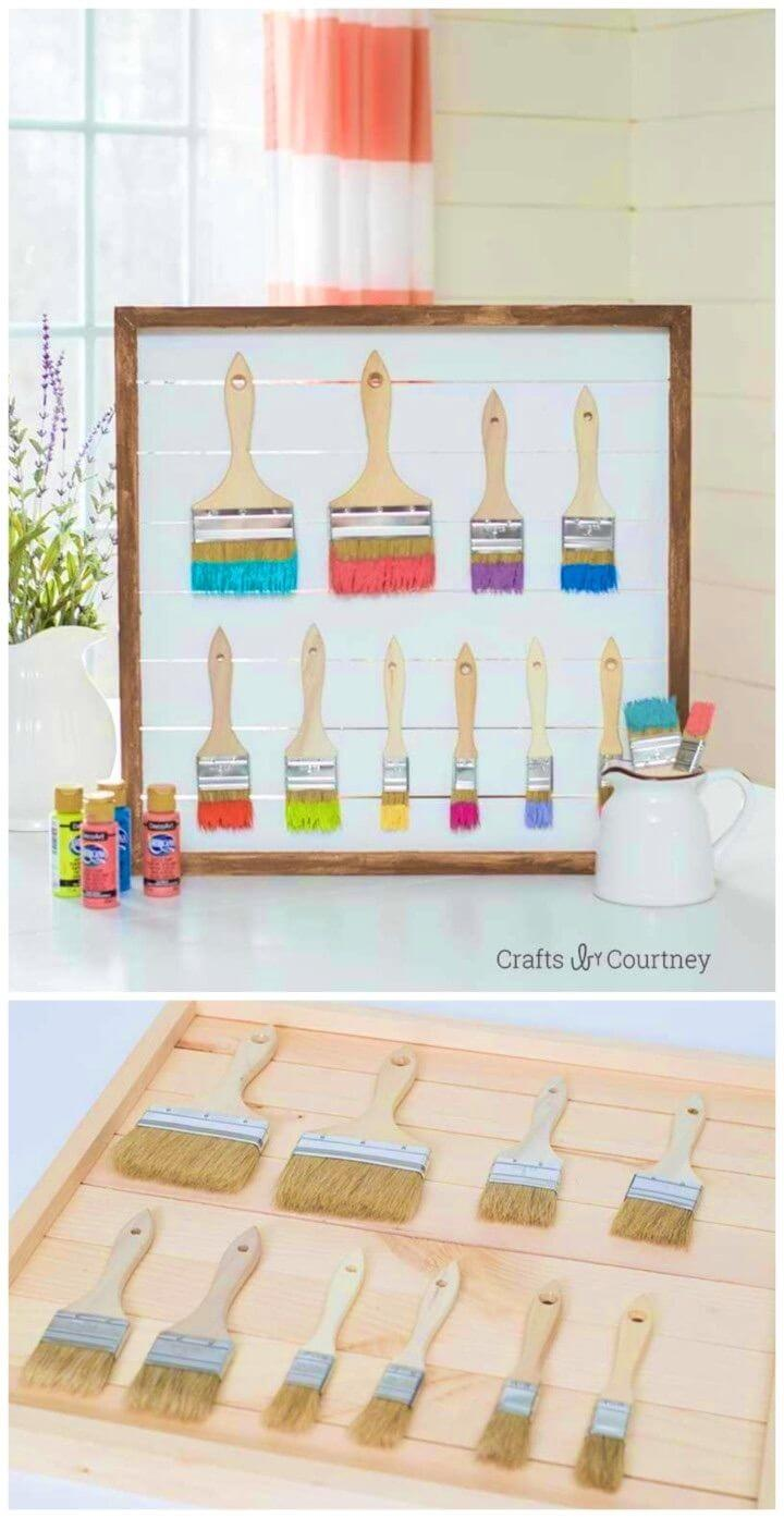 How to Make Craft Room Wall Art