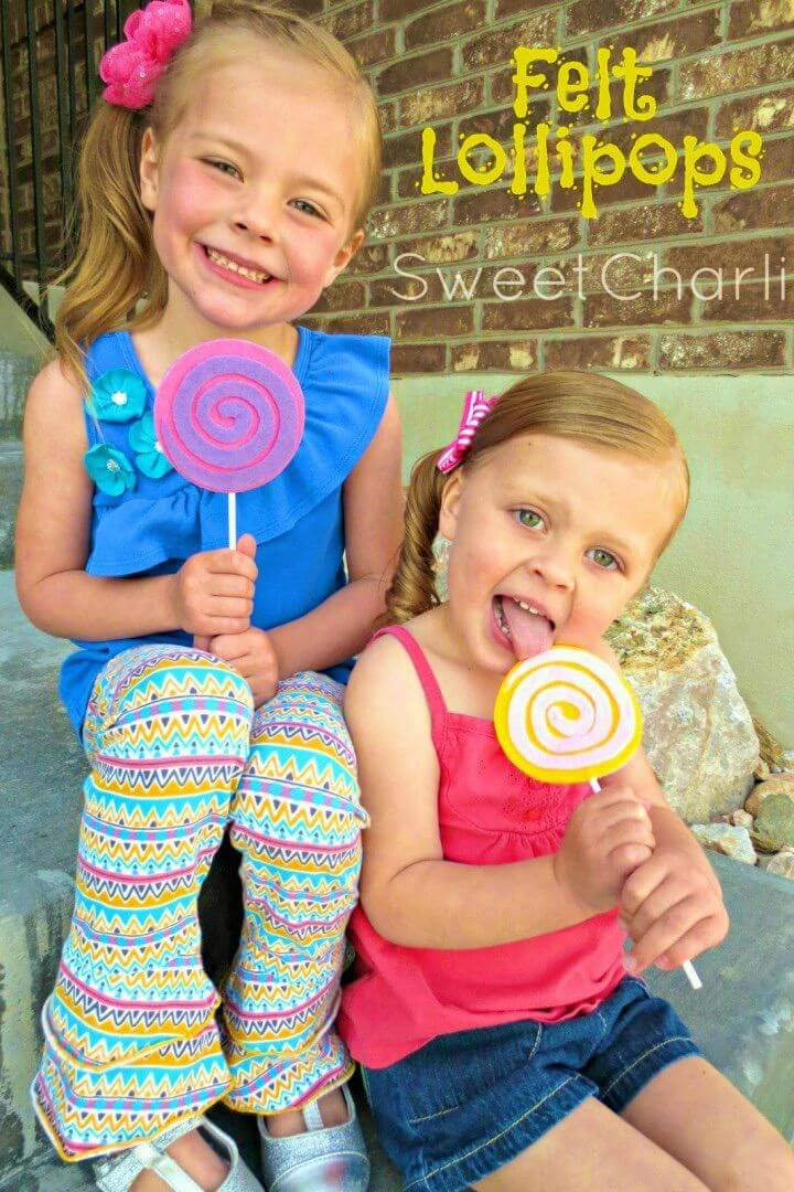 How to Make Felt Lollipops for Kids