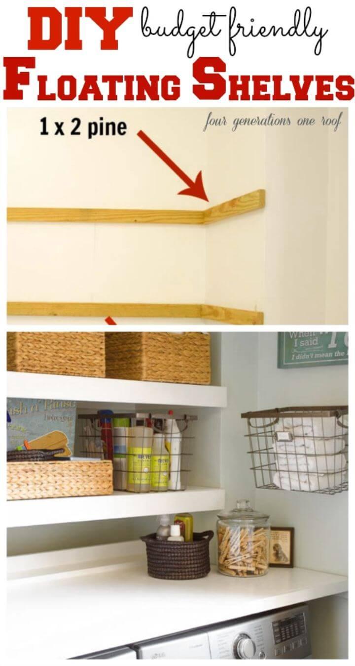 How to Make Floating Shelves
