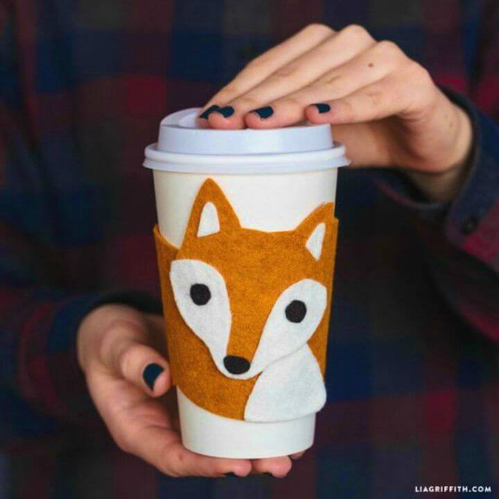 How to Make Fox Cup Cozy