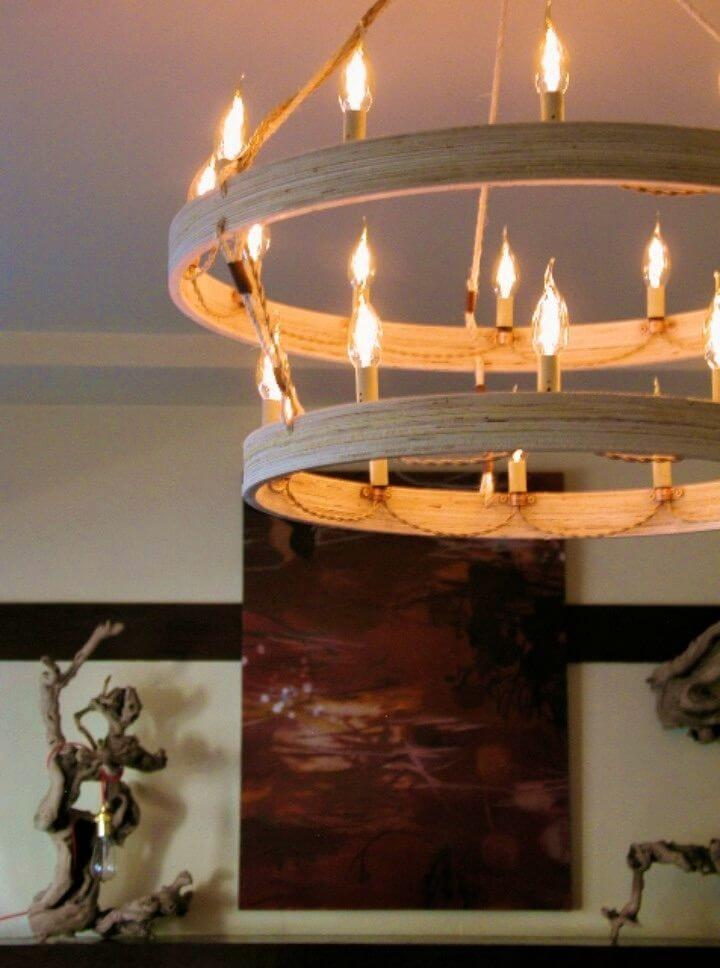 How to Make Incredible Chandelier