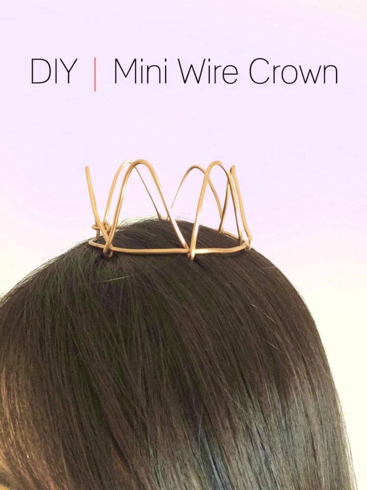 How to Make Mini Wire Crown