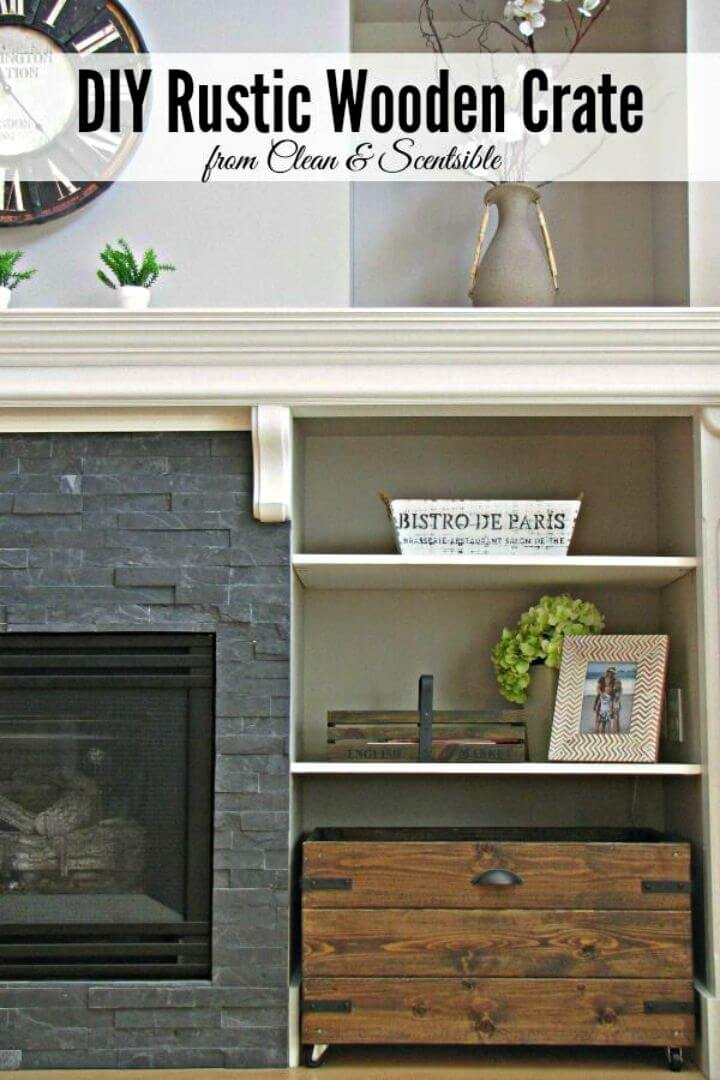 How to Make Rustic Wooden Crate