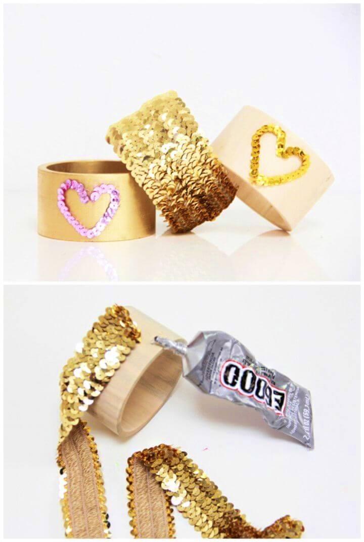 How to Make Sequin Bracelets