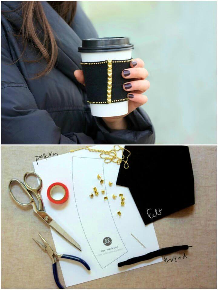 How to Make Slate Coffee Sleeve