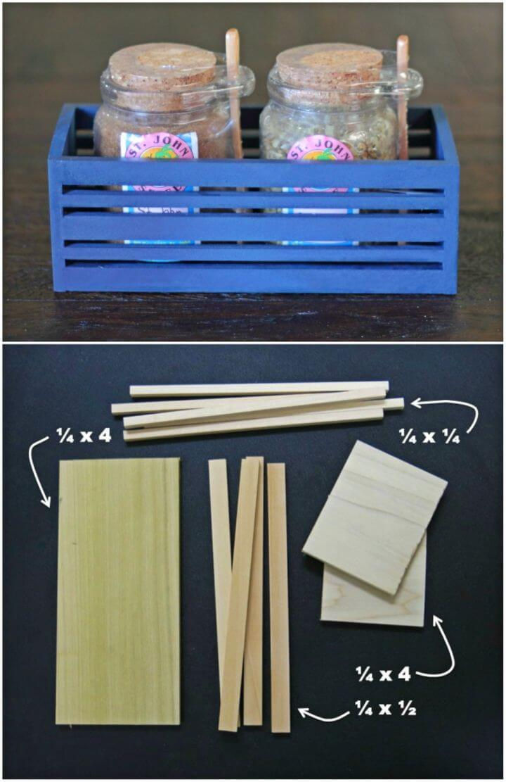How to Make Small Gift Crate
