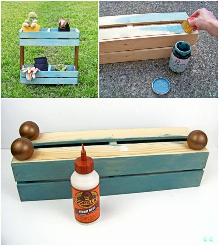 How to Make Tiered Garden Shelf