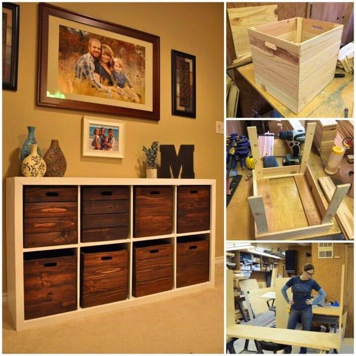 How to Make Toy Storage and Wooden Crates