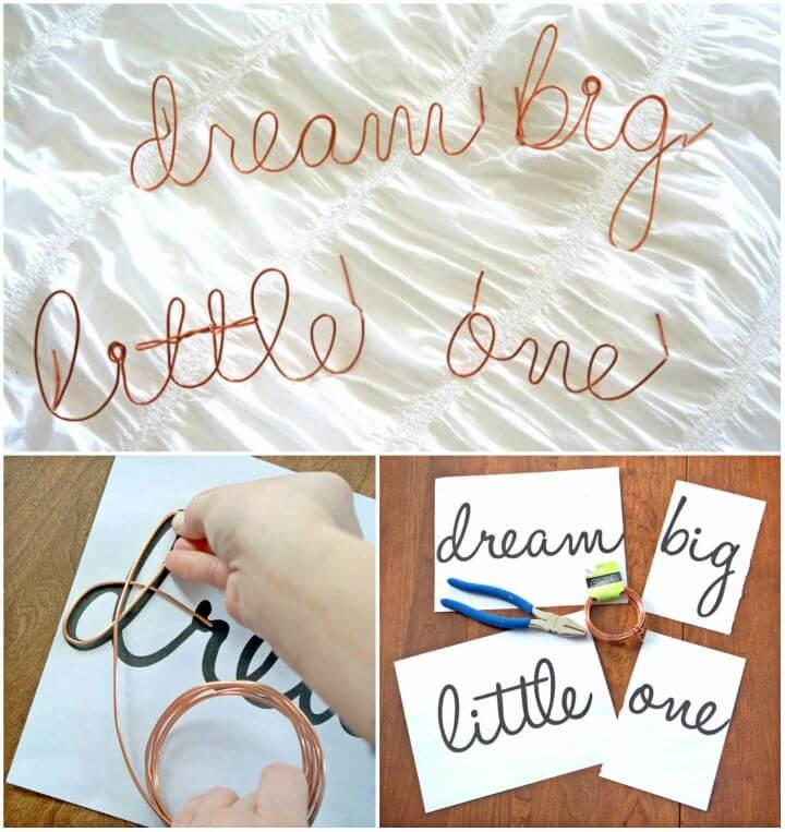 How to Make Wire Word Art Teaser