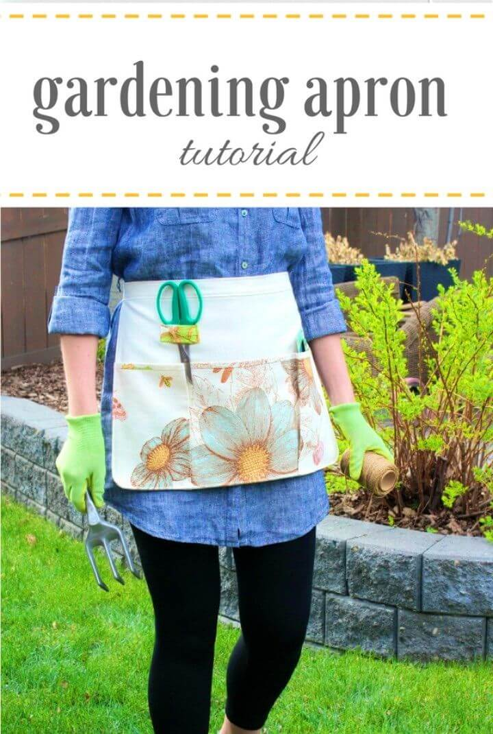 How to Sew Your Own Gardening Apron