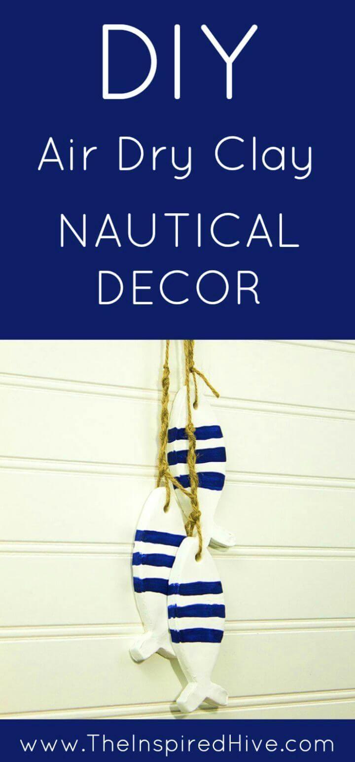 Make Air Dry Clay Nautical Decor