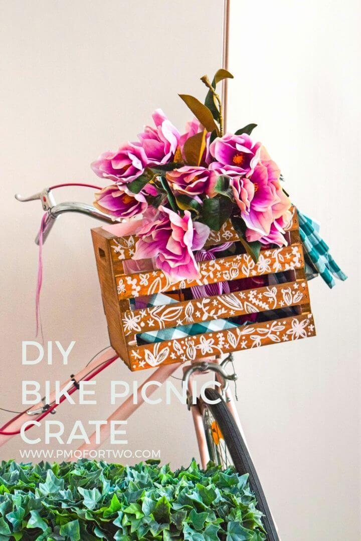 Make Bike Picnic Crate
