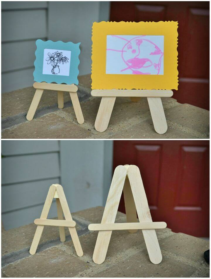 Make Easels and Mini museum Kit