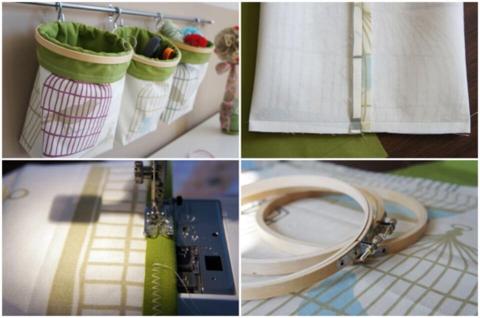 Make Fabric and Hoopla Toy Storage Bag