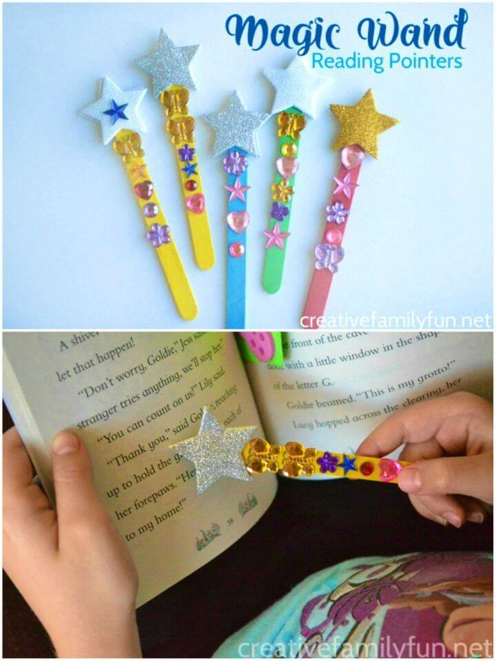 Make Magic Wand Reading Pointers