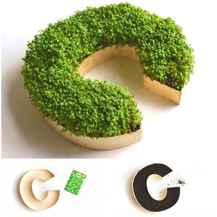 Make Your Own Monogram Planter