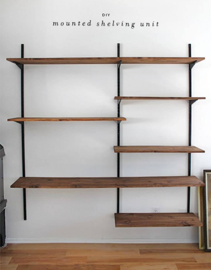 Make Your Own Mounted Shelving