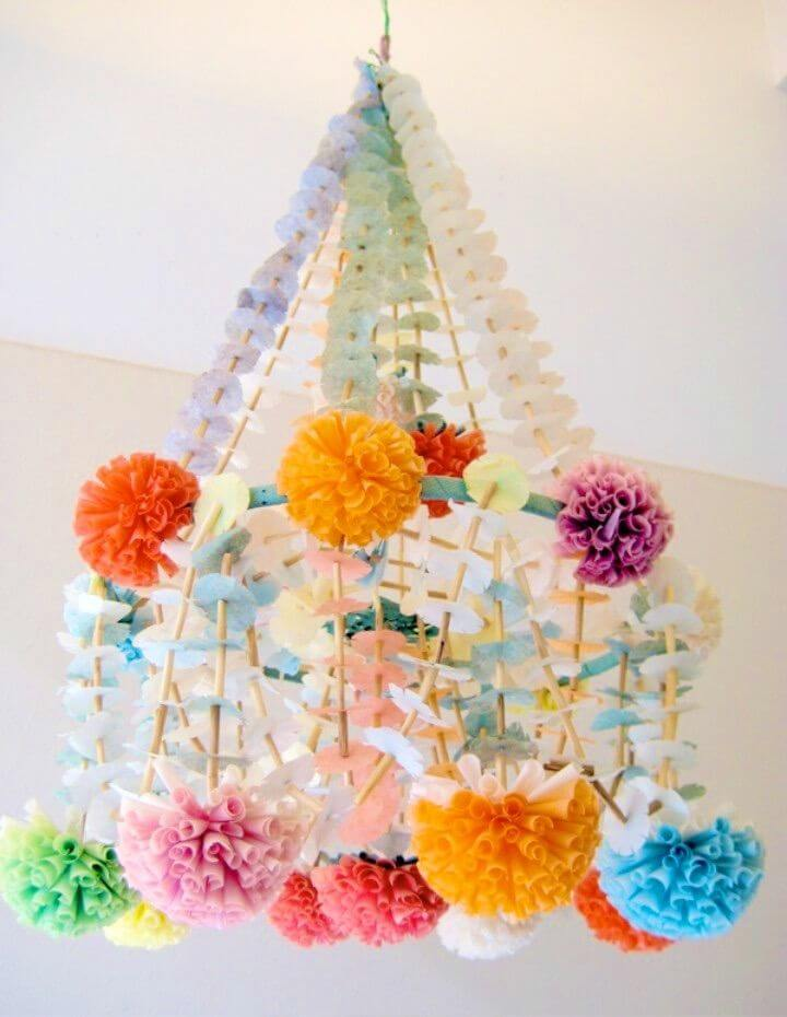 Make Your Own Polish Paper Chandeliers