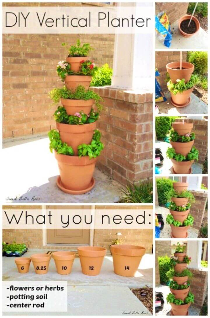 Make Your Own Vertical Planter With Limited Space