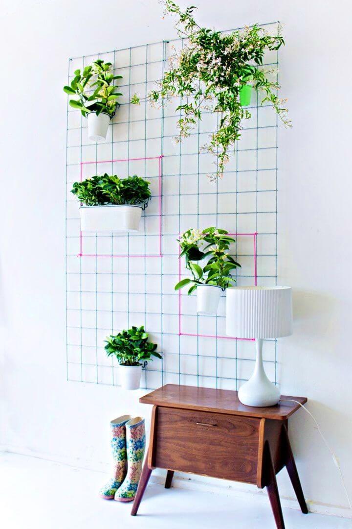 Make a Green Wall Planter