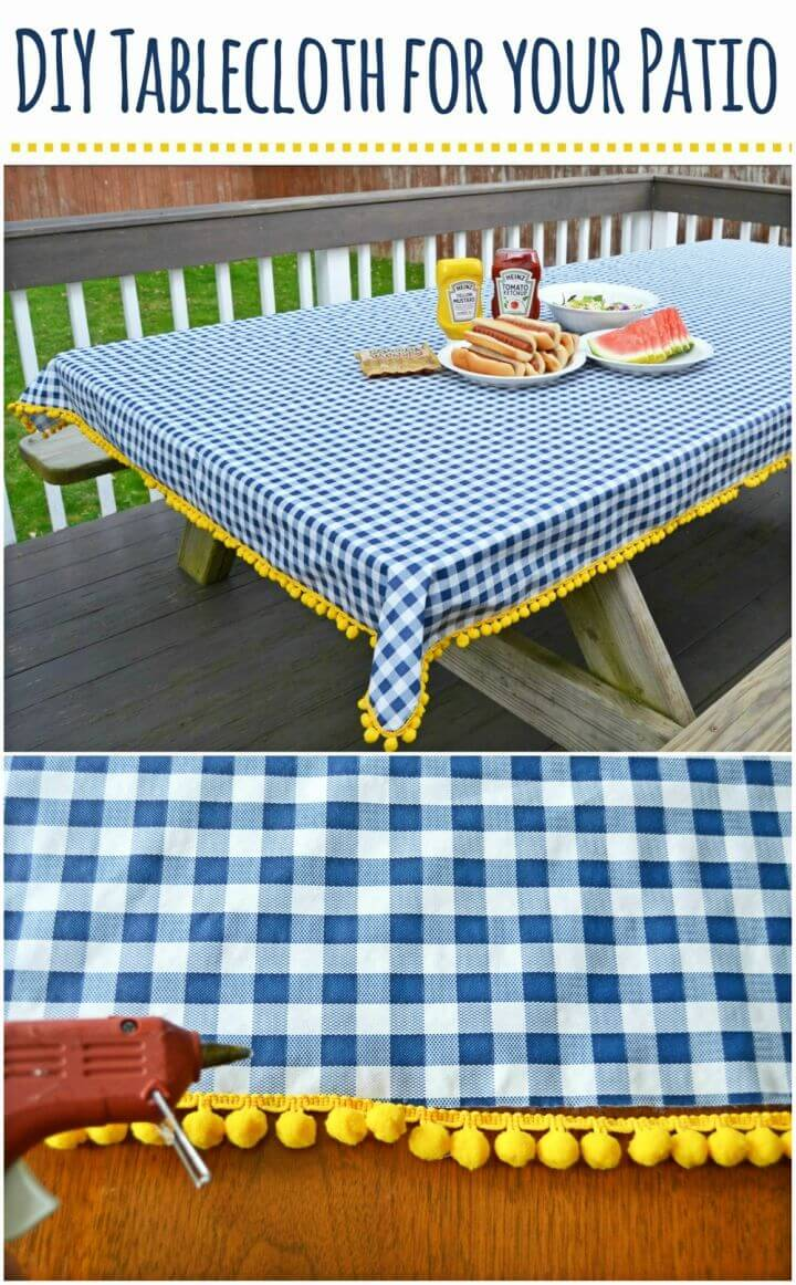 Make a Tablecloth for Your Patio