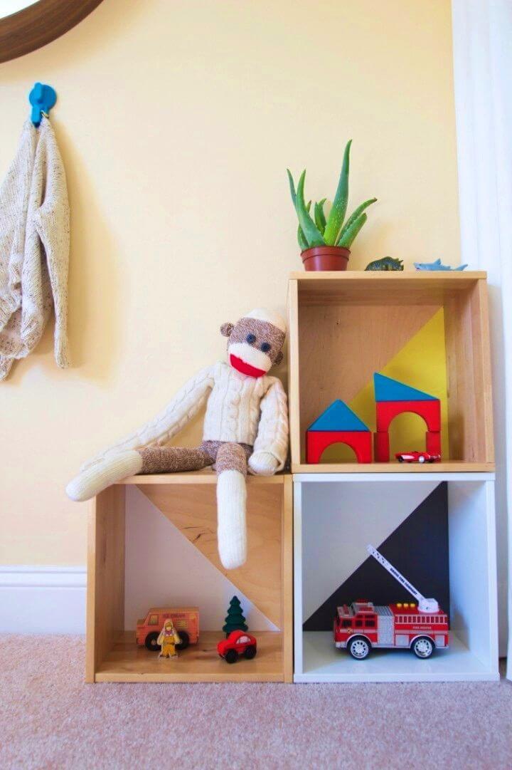 Modern DIY Toy Storage