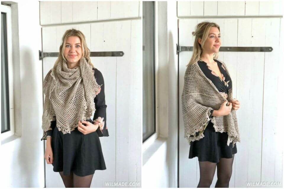Free Crochet Durable Friendship Shawl Pattern