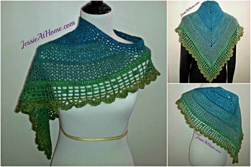 Free Crochet Juliette Shawl Pattern