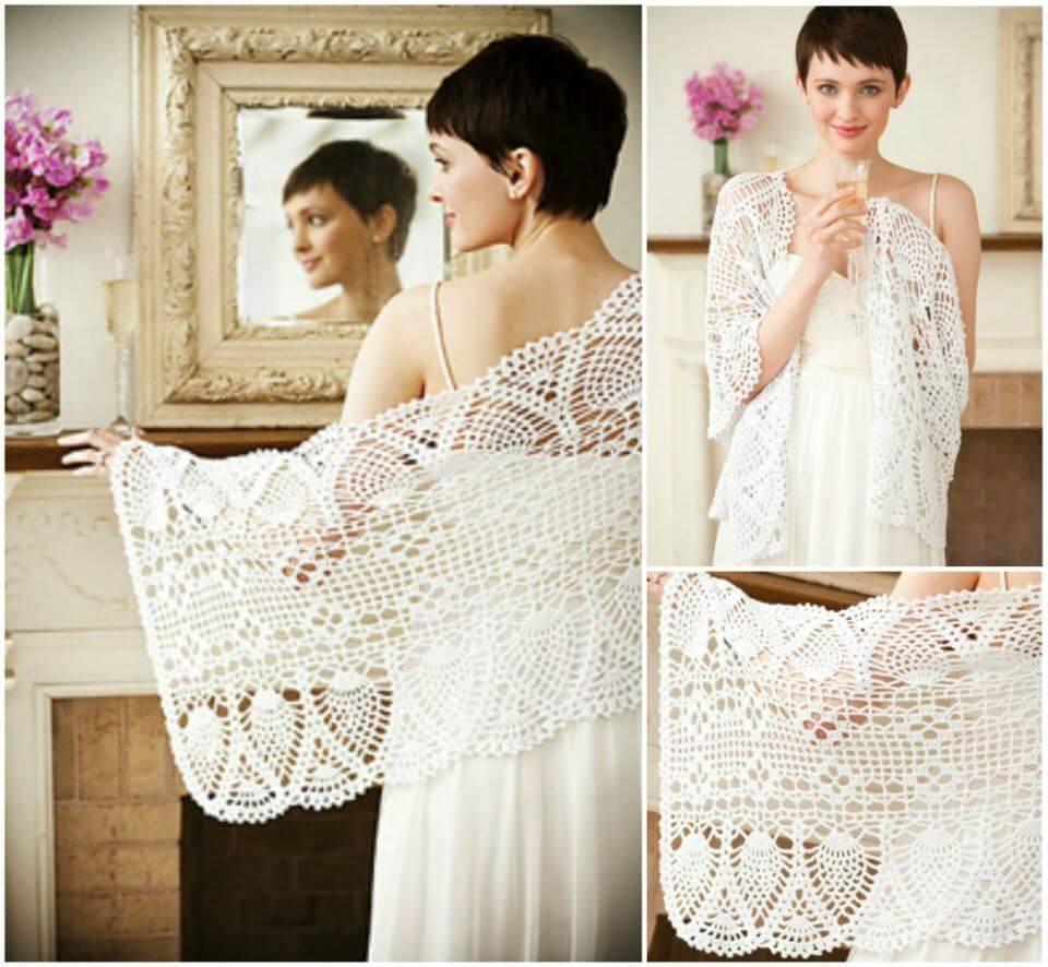Free Crochet Keepsake Lace Shawl Pattern