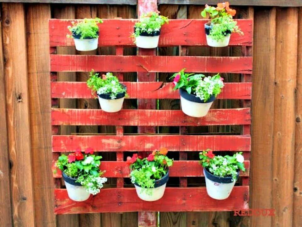 How to Build a Wood Pallet Planter