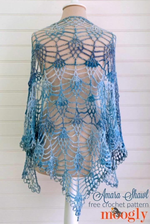 How to Crochet Amara Shawl