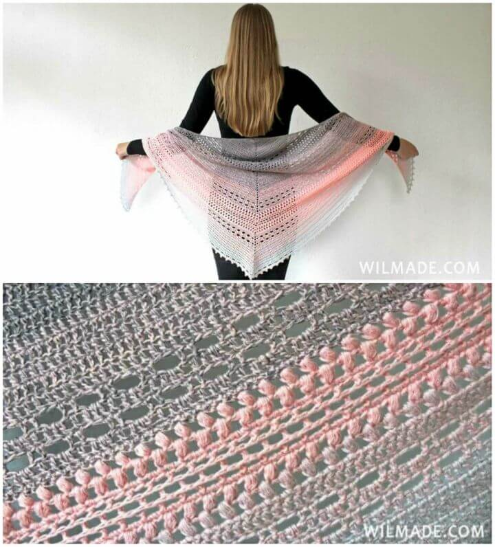 How to Crochet Bella Vita Shawl