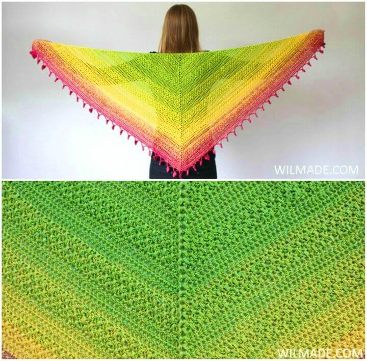 How to Crochet Lovely Luisa Shawl