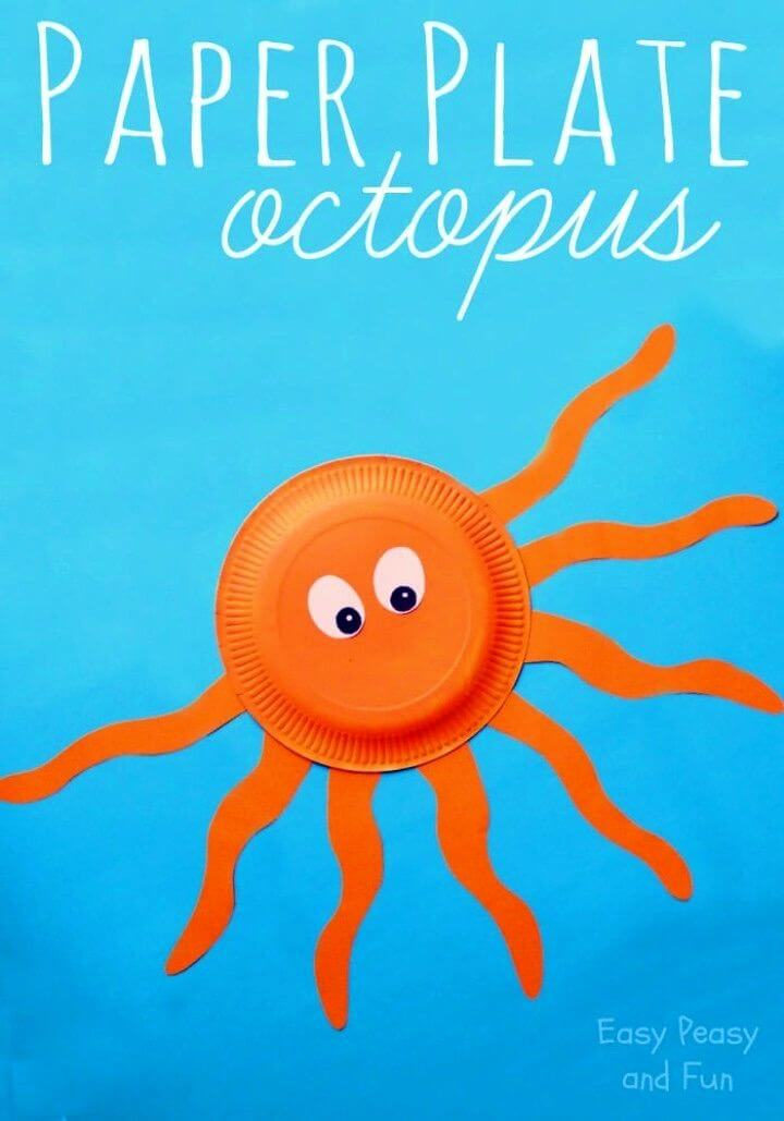 How to Make an Octopus Paper Plate Craft