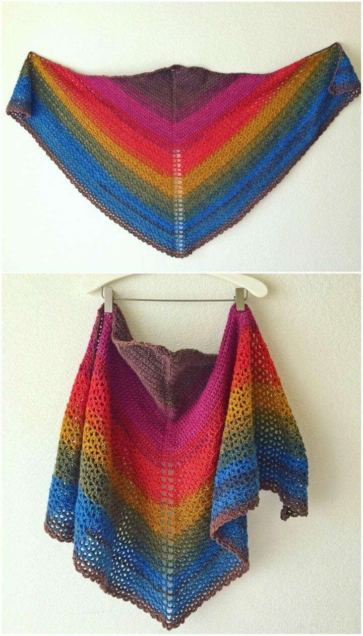 Make Anna's Shawl Free Crochet Pattern