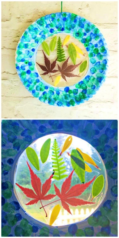 Make a Botanical Suncatcher Craft