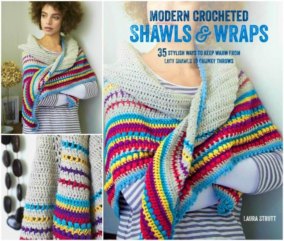 Modern Crochet Shawls and Wraps Free Pattern