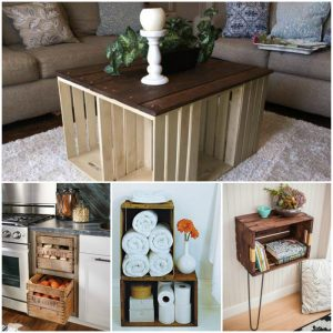 70 Great DIY Wood Crate Projects