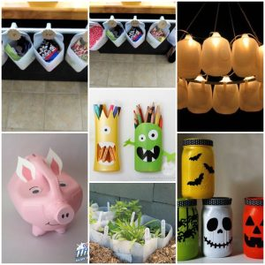 20 DIY Things To Do With Empty Milk Jugs