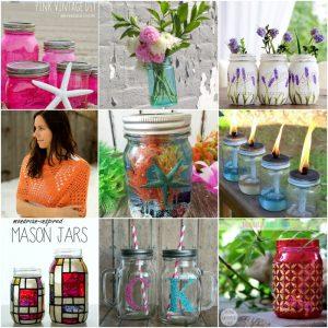 45 DIY Mason Jar Craft to Make and Sell