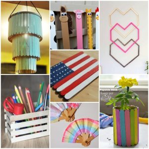 50 Awesome DIY Ideas To Use Popsicle Sticks