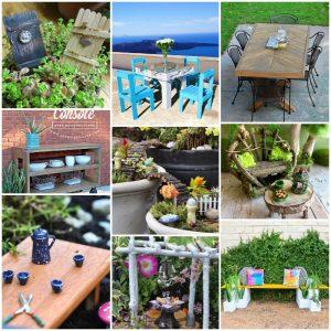 50 DIY Fairy Garden Furniture Ideas Easy To Make