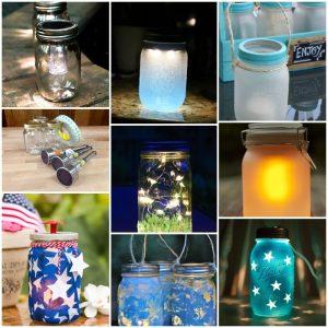 50 DIY Mason Jar Lights Makes Too Easiest