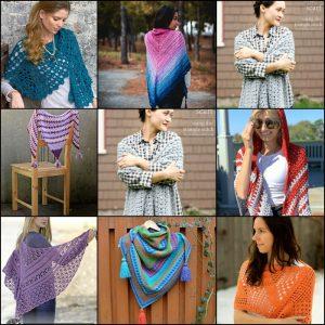 60 Inspiring and Free Crochet Shawl Patterns
