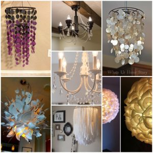 65 Easy Creative DIY Chandelier Projects