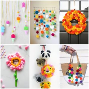 80 DIY Pom Pom Ideas For Inexpensive Gifts